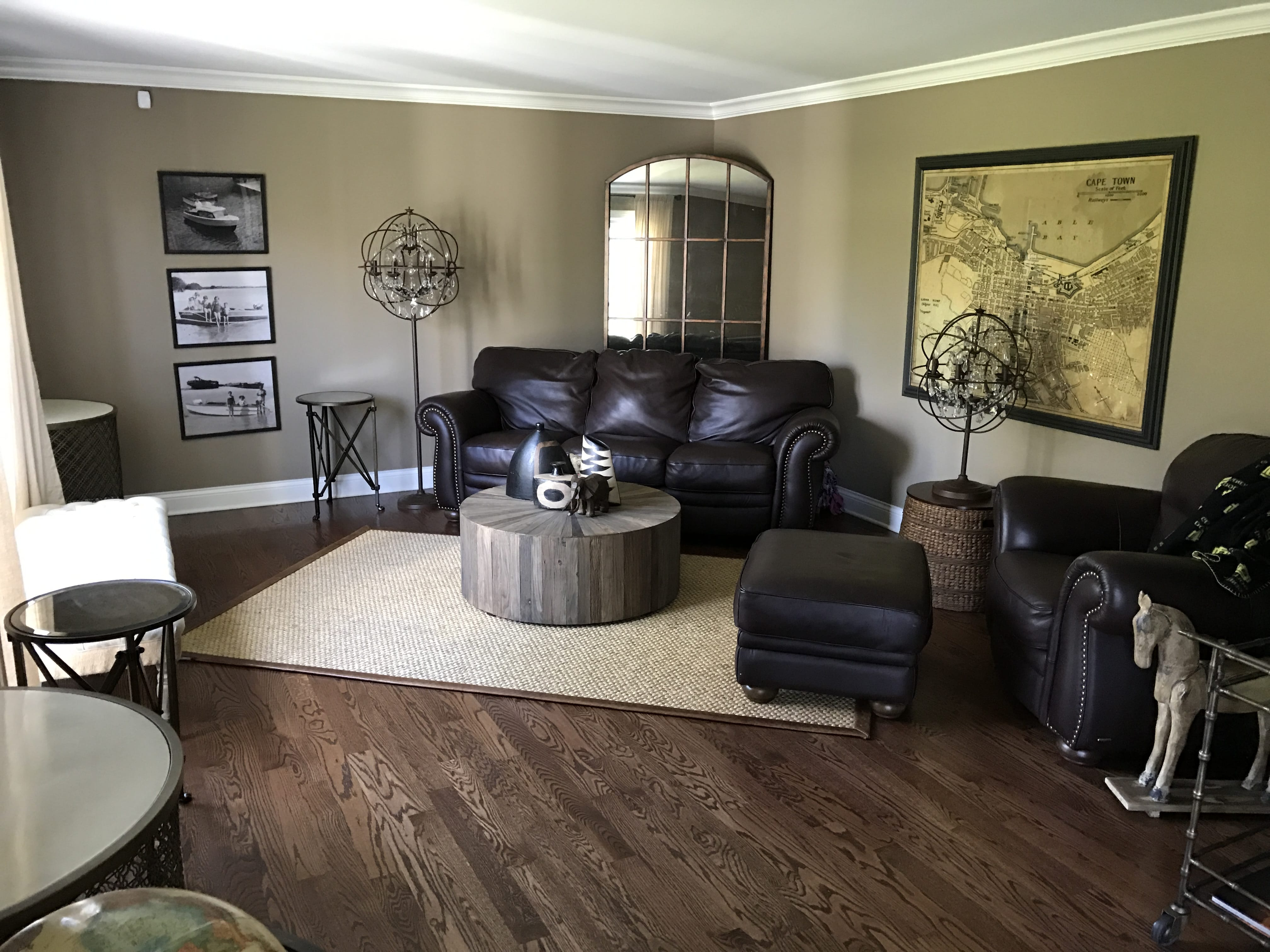 Living room remodel.